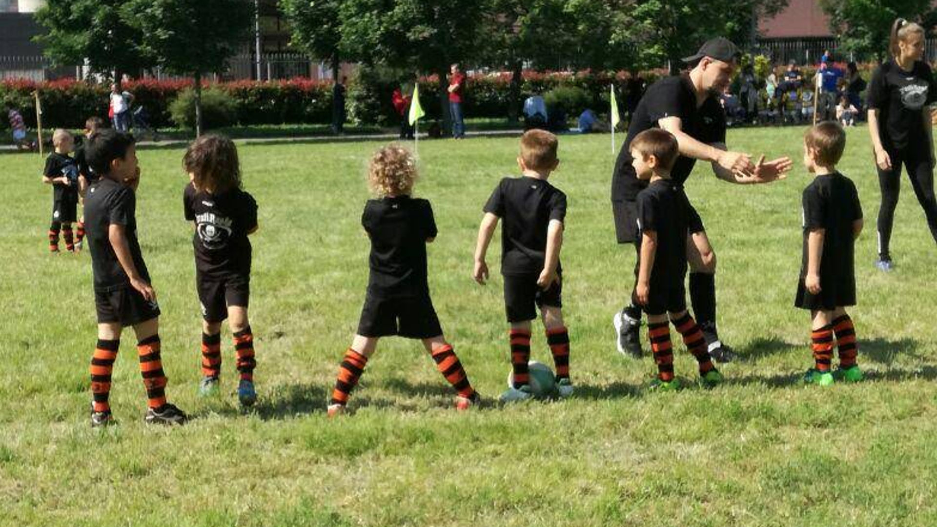 i bambini under 6 e il rugby